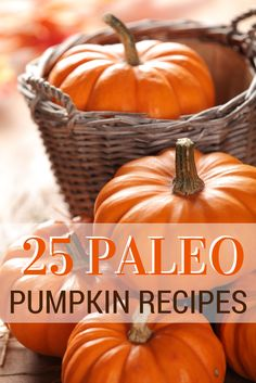List of super awesome paleo pumpkin EVERYTHING.