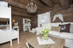 Innflyttingsklar HYTTEDRØM på utsiktstomt - Norefjell   FINN.no Dere, Cabana, Dining Table, Real Estate, Rustic, Furniture, Home Decor, Ski, Summer