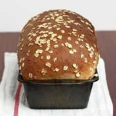 Whole Wheat Oatmeal Buttermilk Bread by Tracey's Culinary Adventures, via Flickr