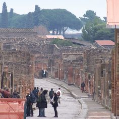 Pompeii- it was very eerie walking around Pompeii I would love to go again