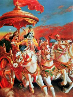Wherever there is Krishna and Arjuna there will certainly be opulence, victory, extraordinary power and morality.