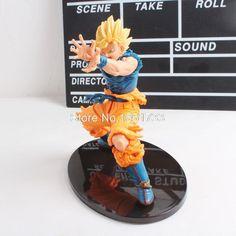 Anime Dragon Ball Z Figure Super Saiyan Son Goku PVC Action Figure Collectible Model Toy 17CM
