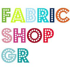 Welcome to Fabric Shop Gr!! We offer 100% cotton fabrics measuring a full 55 inches (140 cm) at prices that really satisfy. Here youll find