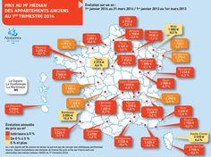 [Infographie] Immobilier : légère baisse des prix au 1er trimestre 2014 - 21 juillet 2014 - Le Nouvel Observateur