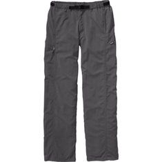Several decades ago, we started making our do-all GI Pants. Since then they've become a staple for trekking, backpacking, river running and serious lounging. This year's version is lightweight yet tough with a DWR (durable water repellent) finish. It provides 50+ UPF sun protection, dries fast and f