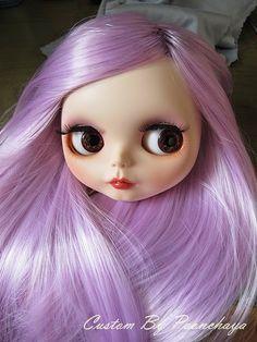 Coloring - Lavender hair