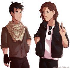 Nathan and Gabriel