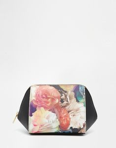 Image 1 of Ted Baker Technicolour Xhatch Small Washbag