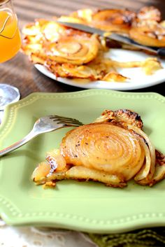 From my heart: Upside down onion and potato tart