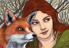 Fox, Illustrations, Artist, Animals, Design, Animales, Animaux, Illustration, Artists