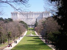 Madrid,jardines,moro,palacio,real. ¿ MADRID FUE SIEMPRE CAPITAL DE ESPAÑA ?