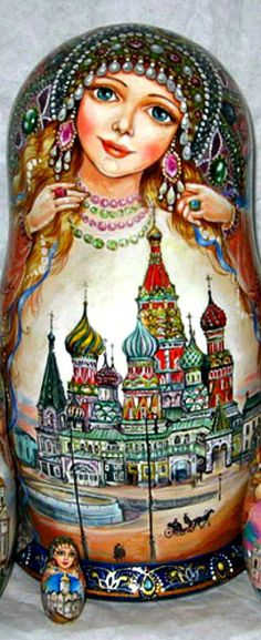 Russian doll Matrioshka | The House of Beccaria~
