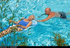 In my opinion swimming is the best exercise for elderly....and love and fun...lol