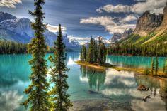 Spirit Island, Jasper Canada
