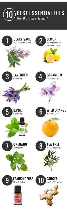 Essential Oils for De-stressing and More