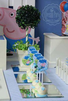 "GEORGE PIG : "" Birthday 4th - Benjamín"" Birthday Party Ideas | Photo 2 of 15"