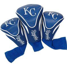 Team Golf Kansas City Royals Contoured Headcovers - 3-Pack