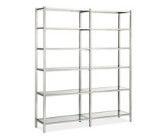 Room & Board - Brixton 72h 60w Double Wide Bookcase