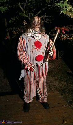 Evil Killer Clown Costume - Halloween Costume Contest via @costume_works