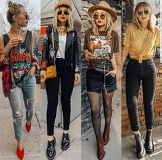 date night outfits Hipster Outfits, Edgy Outfits, Grunge Outfits, Cute Casual Outfits, Fall Outfits, Fashion Outfits, Mode Lookbook, Looks Country, Look Boho