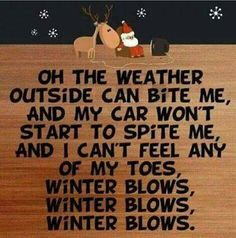 winter blows