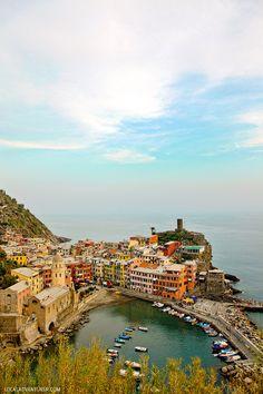 Parque Nacional Cinque Terre (25 fantásticos Trilhas para caminhadas).