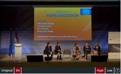 Panel discussion.  Speakers: Klaus-Peter Böttger, Jan Braeckman, Sven Birkerts, Divina Frau-Meigs. Moderator: Kate Russell
