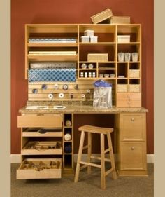Traditional Home Office Craft Room Design, Pictures, Remodel, Decor and Ideas - page 3