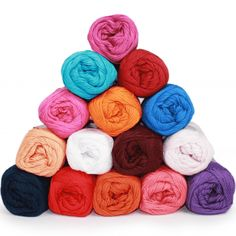 Garenpakket - Cotton 8/4 - Circus - 15 kleuren