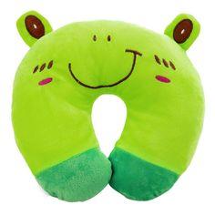 Lightweight Plush Neck Support / Headrest Pillow for Baby