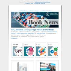 Book News from the World Trade Organization - November 2014 Standard Of Living, Book News, Book Organization, New Edition, World Trade, Economics, New Books, November