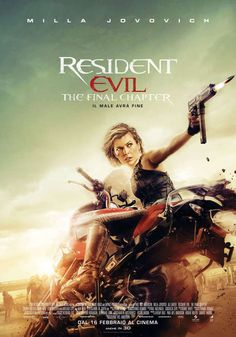 Resident Evil: The Final Chapter (SUB ITA) Germania, Australia, Canada, Francia: 2017 Genere: Fantascienza Durata: 106' Regia: Paul W.S. Anderson Co