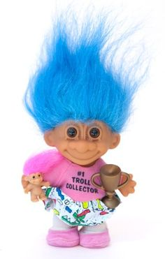 My Lucky #1 Troll Collector Troll Doll Toys & Games