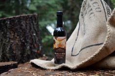 Fair Trade Honey and Rooibos Balsamic Reduction.