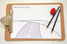 Printables for Kids on Road Trips