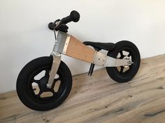 "The balance bicycle ""JURO"" was created for toddlers and can later be enlarged to a regular bicycle with just a few simple steps."