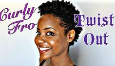 How To Do A Twist Out On A Not-So-TWA Read the article here - http://www.blackhairinformation.com/general-articles/hairstyles-general-articles/twist-twa/ #curlyfro #twa #naturalhair