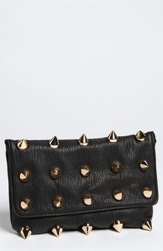 Deux Lux 'Empire' Faux Leather Clutch $50.98 by nordstrom