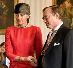 Prince Jean of Luxembourg and Diane de Guerre  March 18, 2009