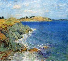 Ebbing Tide - 1907 - Willard Metcalf - WikiArt.org