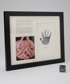 Another great find on #zulily! Grandparent Gift Company Black 'My Daddy's Hands' Frame by The Grandparent Gift Co. #zulilyfinds