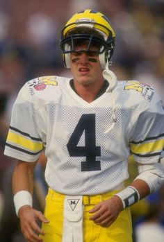 Image result for Jim Harbaugh playing