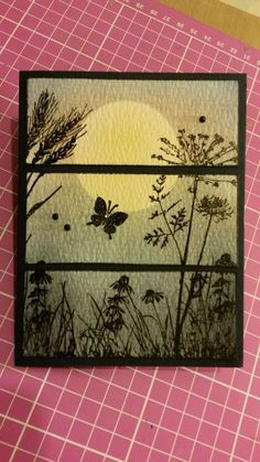 Inkadinkado Meadow | CASED by me! | Pinterest
