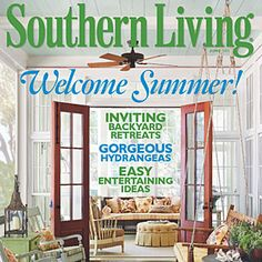 June 2011 Magazine. Southern Living MagazineOutdoor Spaces