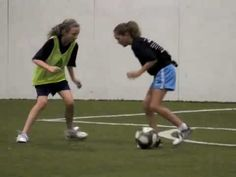 drills with girls elite youth soccer players adidas.  These girls are awesome! fitness