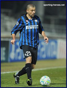 Walter Adrian Lujan SAMUEL; Newell's Old Boys ARG 1996–97, Boca Juniors ARG 97–2000, Roma ITA 2000–04, Real Madrid SPA 04–05, INTER 2005–2014, Basel SUI 2014-