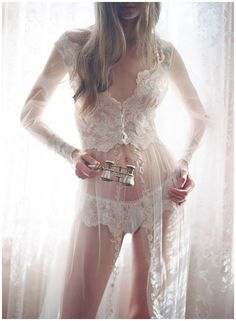 The Heirloom collection again from Claire Pettibone, dreamy, sensual, traditional and sexy #wedding night #lingerie