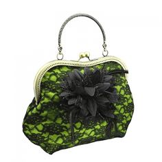 698 clutch bag has Handle, Handbag in Evening or Bohemian style, Handcrafted Handbag made from fabric has padding is added inside the fabric layers to keep. Lingerie Plus Size, Sexy Lingerie, Glamour, Mini Handbags, Black N Yellow, Burlesque, Evening Bags, Clutch Bag, Coin Purse