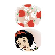 Just one Bite Jr | Disney Collection by Jamberry Featuring the face of Disney Princess Snow White and little poisonous red apples, 'Just One Bite Jr' will bring the fairytale to life for your little one!