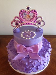 Princess Sofia Birthday Cake wwwOurLittleCakerycom Fresno CA